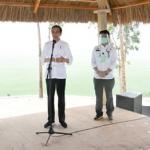 PRESIDEN RI MENINJAU LUMBUNG PANGAN DI KABUPATEN SUMBA TENGAH